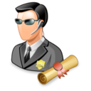 128x128px size png icon of security policies