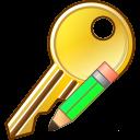 128x128px size png icon of Modify key