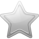 128x128px size png icon of star silver