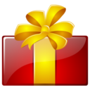 128x128px size png icon of Free gift