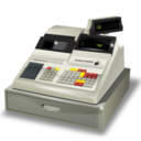 128x128px size png icon of cashbox