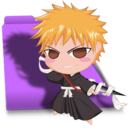 Bleach Chibi Ichigo folder Icon