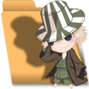 Bleach Chibi Urahara folder Icon