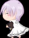 128x128px size png icon of bleach Chibi Nr  8 Ichimaru by rukichen