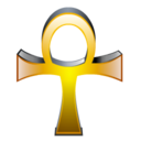 Egyptian Cross Icon