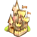 128x128px size png icon of Castle