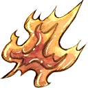 128x128px size png icon of Ele fire