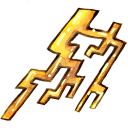128x128px size png icon of Ele thunder