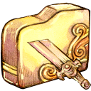 128x128px size png icon of Folder brokensword