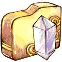 128x128px size png icon of Folder crystal