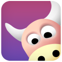 128x128px size png icon of ox cow 1