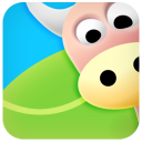 128x128px size png icon of ox cow 2