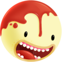 128x128px size png icon of Freaky head