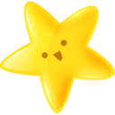 128x128px size png icon of Yammi star