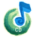 128x128px size png icon of CD Audio