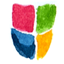 128x128px size png icon of Windows Security