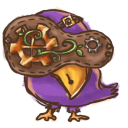 128x128px size png icon of Steampunk Bird