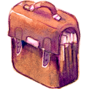 128x128px size png icon of Bag