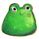 128x128px size png icon of Froggy
