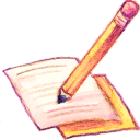 128x128px size png icon of Note