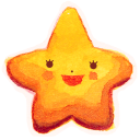 128x128px size png icon of Starry