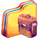 128x128px size png icon of Y Bag