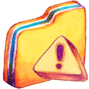 128x128px size png icon of Y Caution