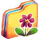 128x128px size png icon of Y Flower