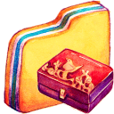 128x128px size png icon of Y Personal Storage