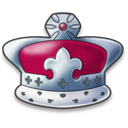 128x128px size png icon of Monarchy