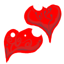 128x128px size png icon of Favourite