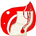 Folder Red doc Icon