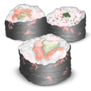 128x128px size png icon of Sushis