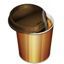 128x128px size png icon of Coffee 2 hot