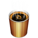128x128px size png icon of Coffee hot