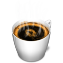 128x128px size png icon of Cup 3 coffee hot
