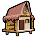 128x128px size png icon of Beach Cabana