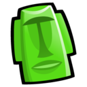 128x128px size png icon of Tiki Head
