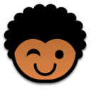 128x128px size png icon of wink 512x512