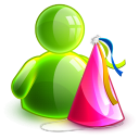 128x128px size png icon of birthday