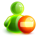 128x128px size png icon of busy