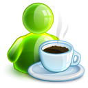 128x128px size png icon of lunchbreak