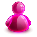 128x128px size png icon of online girl