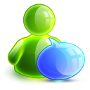 128x128px size png icon of talking