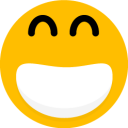 128x128px size png icon of Smiley 11