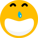 128x128px size png icon of Smiley 15