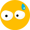 128x128px size png icon of Smiley 21