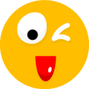 128x128px size png icon of Smiley 25
