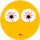 128x128px size png icon of Smiley 8