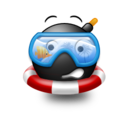 128x128px size png icon of Googles emoticon